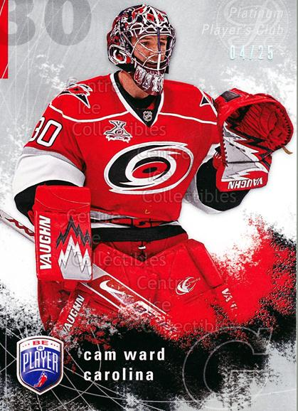 2007-08 Be A Player Players Club Platinum #37 Cam Ward<br/>1 In Stock - $5.00 each - <a href=https://centericecollectibles.foxycart.com/cart?name=2007-08%20Be%20A%20Player%20Players%20Club%20Platinum%20%2337%20Cam%20Ward...&price=$5.00&code=515705 class=foxycart> Buy it now! </a>