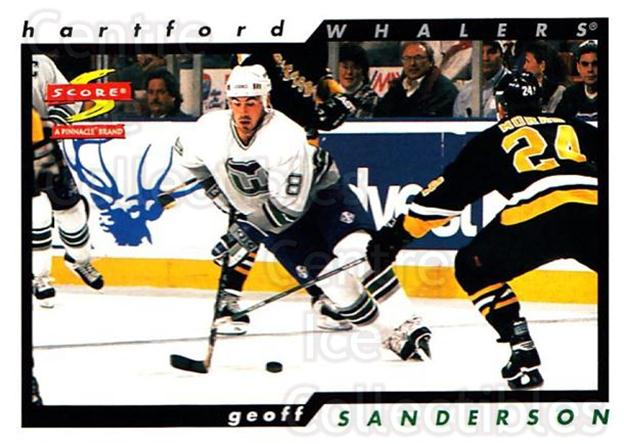 1996-97 Score #119 Geoff Sanderson<br/>5 In Stock - $1.00 each - <a href=https://centericecollectibles.foxycart.com/cart?name=1996-97%20Score%20%23119%20Geoff%20Sanderson...&quantity_max=5&price=$1.00&code=51648 class=foxycart> Buy it now! </a>