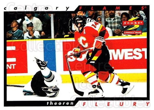 1996-97 Score #12 Theo Fleury<br/>2 In Stock - $1.00 each - <a href=https://centericecollectibles.foxycart.com/cart?name=1996-97%20Score%20%2312%20Theo%20Fleury...&quantity_max=2&price=$1.00&code=51649 class=foxycart> Buy it now! </a>
