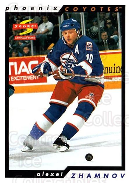 1996-97 Score #128 Alexei Zhamnov<br/>5 In Stock - $1.00 each - <a href=https://centericecollectibles.foxycart.com/cart?name=1996-97%20Score%20%23128%20Alexei%20Zhamnov...&quantity_max=5&price=$1.00&code=51658 class=foxycart> Buy it now! </a>