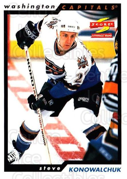 1996-97 Score #135 Steve Konowalchuk<br/>5 In Stock - $1.00 each - <a href=https://centericecollectibles.foxycart.com/cart?name=1996-97%20Score%20%23135%20Steve%20Konowalch...&quantity_max=5&price=$1.00&code=51665 class=foxycart> Buy it now! </a>