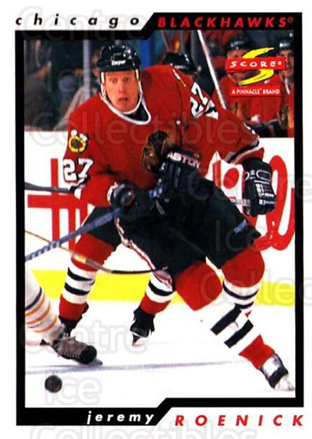 1996-97 Score #137 Jeremy Roenick<br/>4 In Stock - $1.00 each - <a href=https://centericecollectibles.foxycart.com/cart?name=1996-97%20Score%20%23137%20Jeremy%20Roenick...&quantity_max=4&price=$1.00&code=51667 class=foxycart> Buy it now! </a>