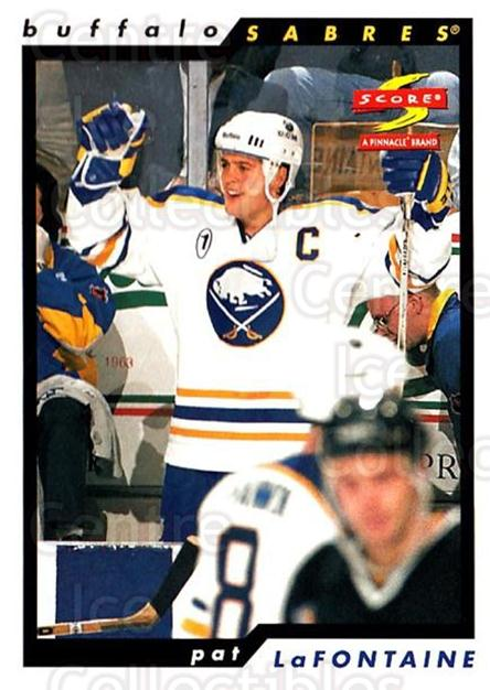 1996-97 Score #139 Pat LaFontaine<br/>4 In Stock - $1.00 each - <a href=https://centericecollectibles.foxycart.com/cart?name=1996-97%20Score%20%23139%20Pat%20LaFontaine...&quantity_max=4&price=$1.00&code=51669 class=foxycart> Buy it now! </a>