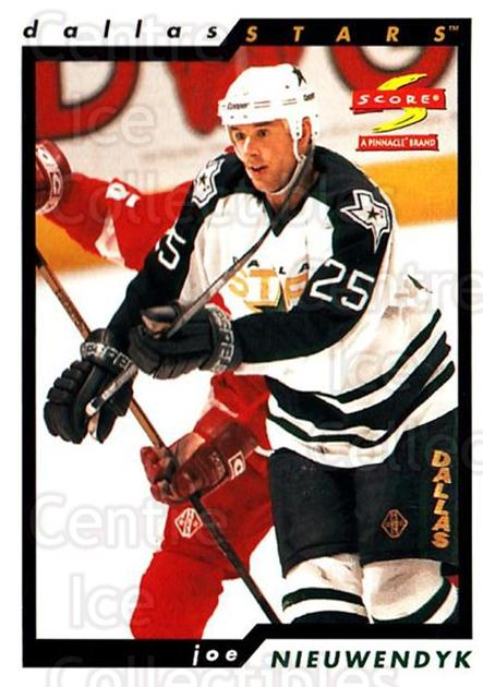 1996-97 Score #152 Joe Nieuwendyk<br/>4 In Stock - $1.00 each - <a href=https://centericecollectibles.foxycart.com/cart?name=1996-97%20Score%20%23152%20Joe%20Nieuwendyk...&quantity_max=4&price=$1.00&code=51684 class=foxycart> Buy it now! </a>