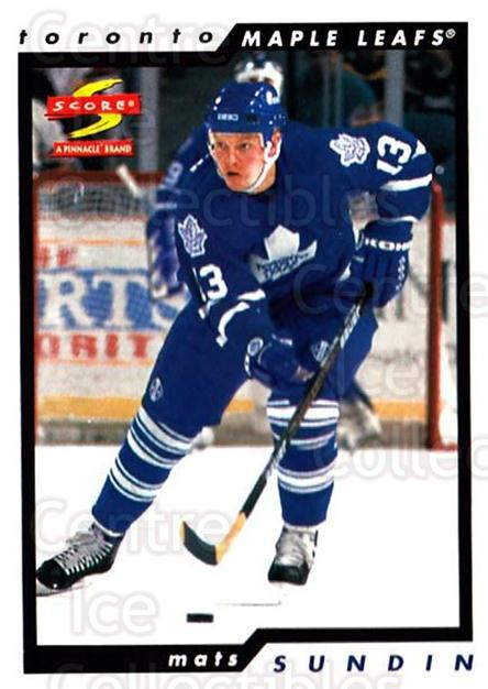 1996-97 Score #160 Mats Sundin<br/>4 In Stock - $1.00 each - <a href=https://centericecollectibles.foxycart.com/cart?name=1996-97%20Score%20%23160%20Mats%20Sundin...&quantity_max=4&price=$1.00&code=51693 class=foxycart> Buy it now! </a>