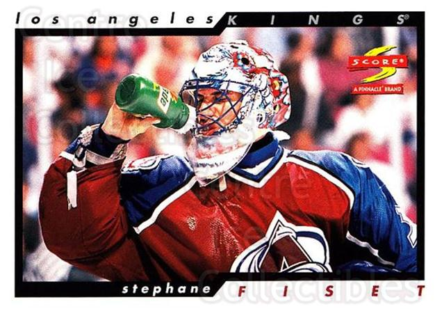 1996-97 Score #17 Stephane Fiset<br/>5 In Stock - $1.00 each - <a href=https://centericecollectibles.foxycart.com/cart?name=1996-97%20Score%20%2317%20Stephane%20Fiset...&quantity_max=5&price=$1.00&code=51702 class=foxycart> Buy it now! </a>