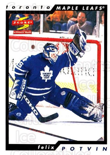 1996-97 Score #172 Felix Potvin<br/>3 In Stock - $1.00 each - <a href=https://centericecollectibles.foxycart.com/cart?name=1996-97%20Score%20%23172%20Felix%20Potvin...&quantity_max=3&price=$1.00&code=51705 class=foxycart> Buy it now! </a>