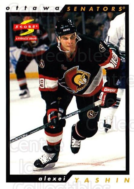 1996-97 Score #181 Alexei Yashin<br/>5 In Stock - $1.00 each - <a href=https://centericecollectibles.foxycart.com/cart?name=1996-97%20Score%20%23181%20Alexei%20Yashin...&quantity_max=5&price=$1.00&code=51714 class=foxycart> Buy it now! </a>