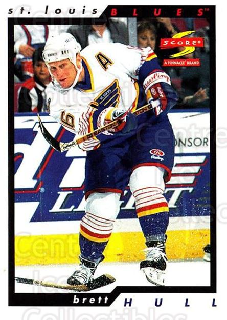 1996-97 Score #19 Brett Hull<br/>3 In Stock - $2.00 each - <a href=https://centericecollectibles.foxycart.com/cart?name=1996-97%20Score%20%2319%20Brett%20Hull...&quantity_max=3&price=$2.00&code=51723 class=foxycart> Buy it now! </a>