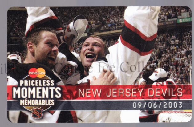 2004 MasterCard Priceless Moments #7 Martin Brodeur<br/>1 In Stock - $5.00 each - <a href=https://centericecollectibles.foxycart.com/cart?name=2004%20MasterCard%20Priceless%20Moments%20%237%20Martin%20Brodeur...&price=$5.00&code=517458 class=foxycart> Buy it now! </a>
