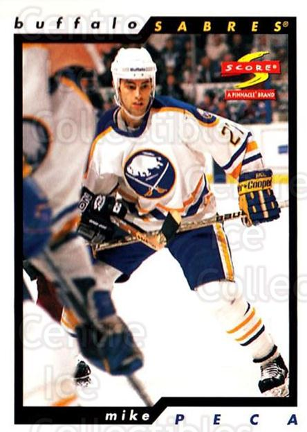1996-97 Score #209 Mike Peca<br/>5 In Stock - $1.00 each - <a href=https://centericecollectibles.foxycart.com/cart?name=1996-97%20Score%20%23209%20Mike%20Peca...&quantity_max=5&price=$1.00&code=51745 class=foxycart> Buy it now! </a>