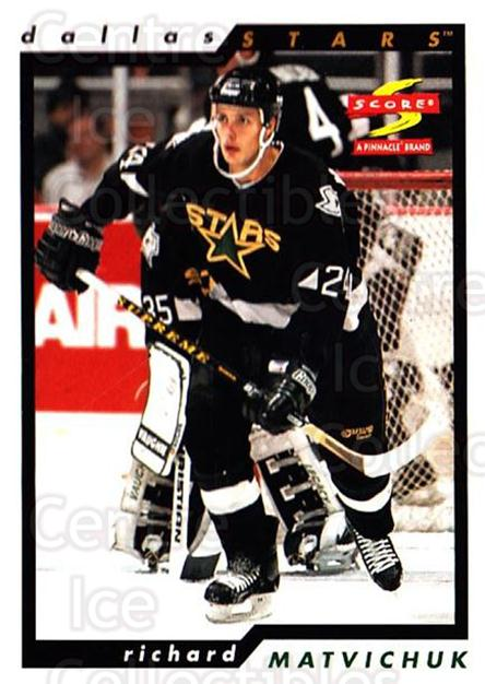1996-97 Score #229 Richard Matvichuk<br/>5 In Stock - $1.00 each - <a href=https://centericecollectibles.foxycart.com/cart?name=1996-97%20Score%20%23229%20Richard%20Matvich...&quantity_max=5&price=$1.00&code=51767 class=foxycart> Buy it now! </a>