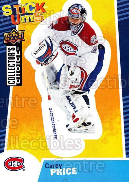 2009-10 Collectors Choice Stick-Ums #13 Carey Price<br/>1 In Stock - $2.00 each - <a href=https://centericecollectibles.foxycart.com/cart?name=2009-10%20Collectors%20Choice%20Stick-Ums%20%2313%20Carey%20Price...&price=$2.00&code=517948 class=foxycart> Buy it now! </a>