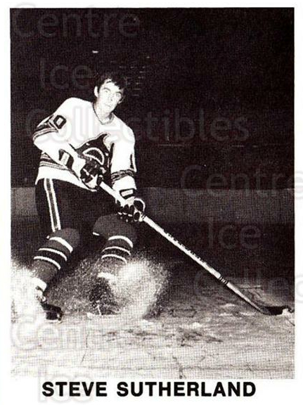 1972-73 Los Angeles Sharks WHA #14 Steve Sutherland<br/>1 In Stock - $5.00 each - <a href=https://centericecollectibles.foxycart.com/cart?name=1972-73%20Los%20Angeles%20Sharks%20WHA%20%2314%20Steve%20Sutherlan...&price=$5.00&code=518524 class=foxycart> Buy it now! </a>