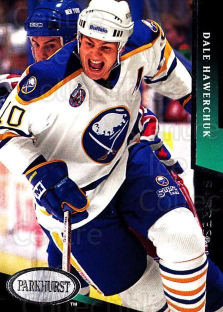 1993-94 Parkhurst #23 Dale Hawerchuk<br/>1 In Stock - $1.00 each - <a href=https://centericecollectibles.foxycart.com/cart?name=1993-94%20Parkhurst%20%2323%20Dale%20Hawerchuk...&quantity_max=1&price=$1.00&code=518963 class=foxycart> Buy it now! </a>