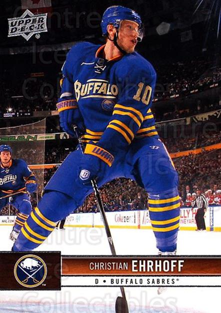2012-13 Upper Deck #15 Christian Ehrhoff<br/>8 In Stock - $1.00 each - <a href=https://centericecollectibles.foxycart.com/cart?name=2012-13%20Upper%20Deck%20%2315%20Christian%20Ehrho...&quantity_max=8&price=$1.00&code=518999 class=foxycart> Buy it now! </a>