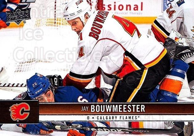 2012-13 Upper Deck #24 Jay Bouwmeester<br/>9 In Stock - $1.00 each - <a href=https://centericecollectibles.foxycart.com/cart?name=2012-13%20Upper%20Deck%20%2324%20Jay%20Bouwmeester...&quantity_max=9&price=$1.00&code=519008 class=foxycart> Buy it now! </a>