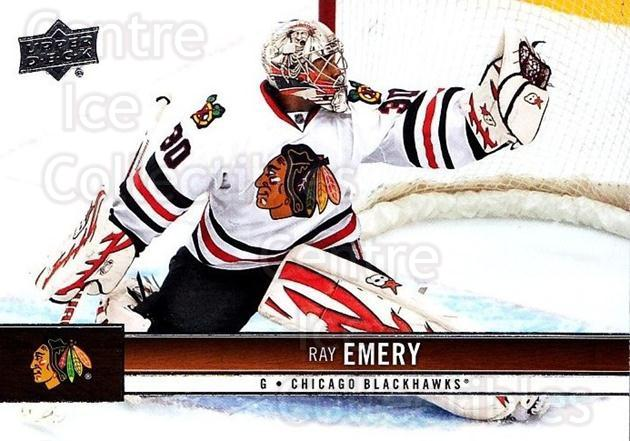 2012-13 Upper Deck #38 Ray Emery<br/>9 In Stock - $1.00 each - <a href=https://centericecollectibles.foxycart.com/cart?name=2012-13%20Upper%20Deck%20%2338%20Ray%20Emery...&quantity_max=9&price=$1.00&code=519022 class=foxycart> Buy it now! </a>
