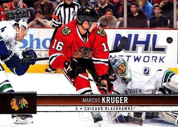 2012-13 Upper Deck #40 Marcus Kruger<br/>9 In Stock - $1.00 each - <a href=https://centericecollectibles.foxycart.com/cart?name=2012-13%20Upper%20Deck%20%2340%20Marcus%20Kruger...&quantity_max=9&price=$1.00&code=519024 class=foxycart> Buy it now! </a>
