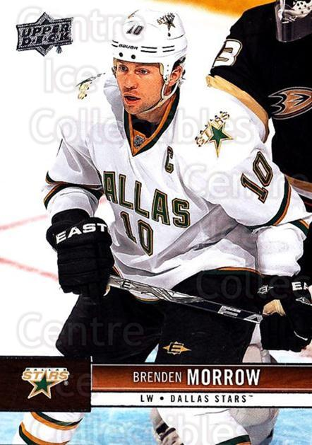 2012-13 Upper Deck #56 Brenden Morrow<br/>9 In Stock - $1.00 each - <a href=https://centericecollectibles.foxycart.com/cart?name=2012-13%20Upper%20Deck%20%2356%20Brenden%20Morrow...&quantity_max=9&price=$1.00&code=519040 class=foxycart> Buy it now! </a>