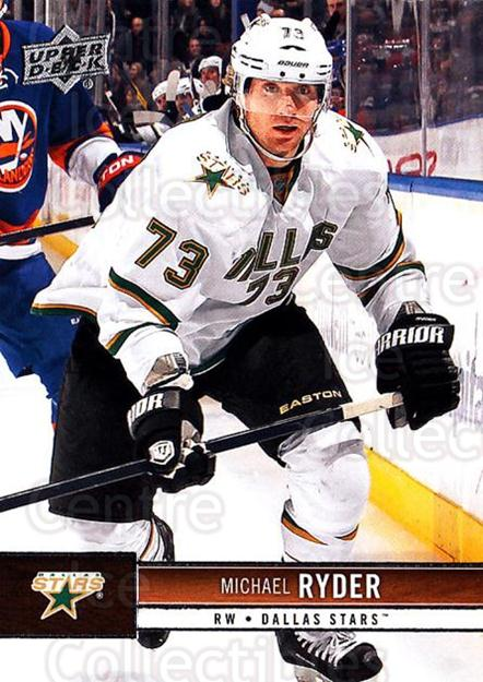 2012-13 Upper Deck #58 Michael Ryder<br/>9 In Stock - $1.00 each - <a href=https://centericecollectibles.foxycart.com/cart?name=2012-13%20Upper%20Deck%20%2358%20Michael%20Ryder...&quantity_max=9&price=$1.00&code=519042 class=foxycart> Buy it now! </a>
