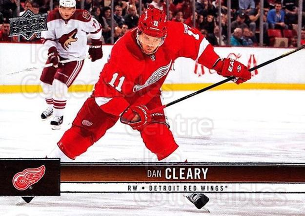 2012-13 Upper Deck #62 Daniel Cleary<br/>9 In Stock - $1.00 each - <a href=https://centericecollectibles.foxycart.com/cart?name=2012-13%20Upper%20Deck%20%2362%20Daniel%20Cleary...&quantity_max=9&price=$1.00&code=519046 class=foxycart> Buy it now! </a>