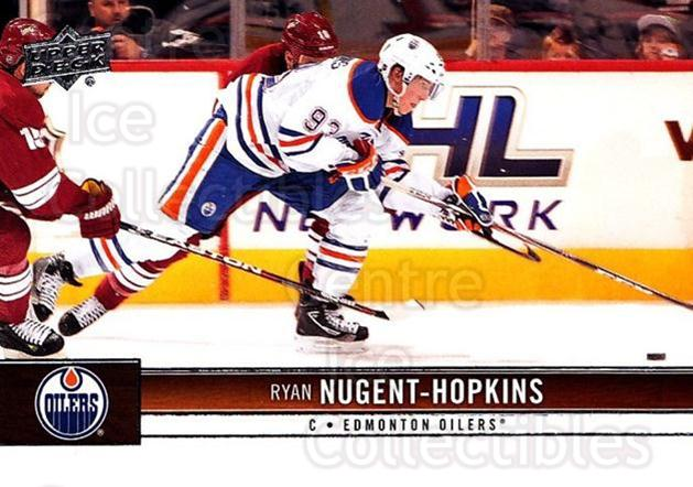 2012-13 Upper Deck #66 Ryan Nugent-Hopkins<br/>3 In Stock - $1.00 each - <a href=https://centericecollectibles.foxycart.com/cart?name=2012-13%20Upper%20Deck%20%2366%20Ryan%20Nugent-Hop...&price=$1.00&code=519050 class=foxycart> Buy it now! </a>