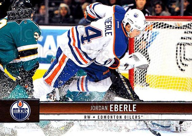 2012-13 Upper Deck #70 Jordan Eberle<br/>9 In Stock - $1.00 each - <a href=https://centericecollectibles.foxycart.com/cart?name=2012-13%20Upper%20Deck%20%2370%20Jordan%20Eberle...&quantity_max=9&price=$1.00&code=519054 class=foxycart> Buy it now! </a>