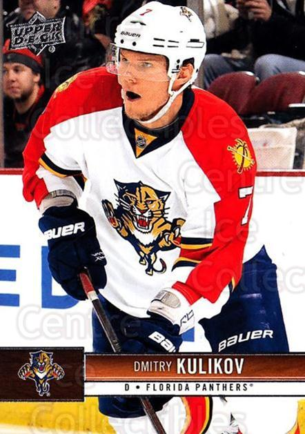 2012-13 Upper Deck #73 Dmitry Kulikov<br/>10 In Stock - $1.00 each - <a href=https://centericecollectibles.foxycart.com/cart?name=2012-13%20Upper%20Deck%20%2373%20Dmitry%20Kulikov...&quantity_max=10&price=$1.00&code=519057 class=foxycart> Buy it now! </a>