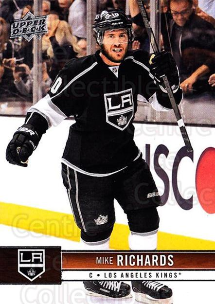 2012-13 Upper Deck #78 Mike Richards<br/>9 In Stock - $1.00 each - <a href=https://centericecollectibles.foxycart.com/cart?name=2012-13%20Upper%20Deck%20%2378%20Mike%20Richards...&quantity_max=9&price=$1.00&code=519062 class=foxycart> Buy it now! </a>