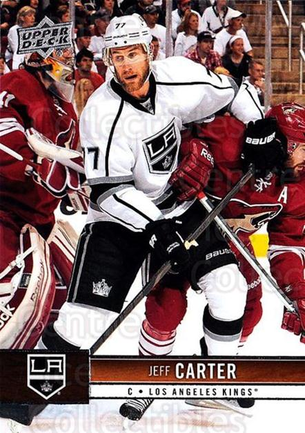2012-13 Upper Deck #80 Jeff Carter<br/>9 In Stock - $1.00 each - <a href=https://centericecollectibles.foxycart.com/cart?name=2012-13%20Upper%20Deck%20%2380%20Jeff%20Carter...&quantity_max=9&price=$1.00&code=519064 class=foxycart> Buy it now! </a>