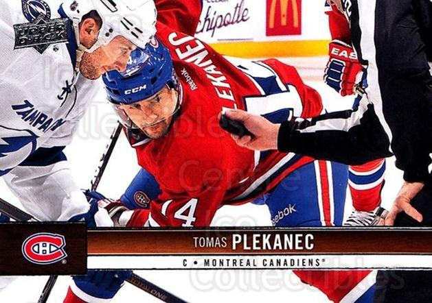 2012-13 Upper Deck #96 Tomas Plekanec<br/>9 In Stock - $1.00 each - <a href=https://centericecollectibles.foxycart.com/cart?name=2012-13%20Upper%20Deck%20%2396%20Tomas%20Plekanec...&quantity_max=9&price=$1.00&code=519080 class=foxycart> Buy it now! </a>