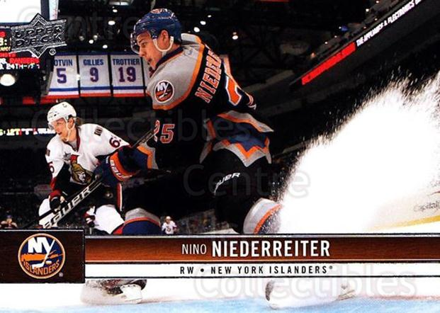 2012-13 Upper Deck #113 Nino Niederreiter<br/>9 In Stock - $1.00 each - <a href=https://centericecollectibles.foxycart.com/cart?name=2012-13%20Upper%20Deck%20%23113%20Nino%20Niederreit...&quantity_max=9&price=$1.00&code=519097 class=foxycart> Buy it now! </a>
