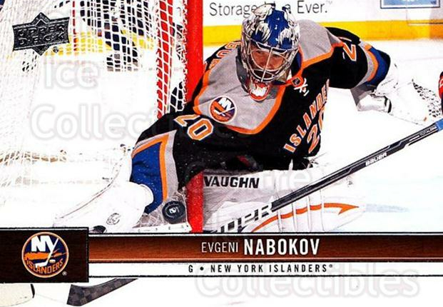 2012-13 Upper Deck #114 Evgeni Nabokov<br/>8 In Stock - $1.00 each - <a href=https://centericecollectibles.foxycart.com/cart?name=2012-13%20Upper%20Deck%20%23114%20Evgeni%20Nabokov...&quantity_max=8&price=$1.00&code=519098 class=foxycart> Buy it now! </a>