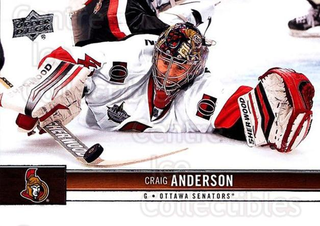 2012-13 Upper Deck #126 Craig Anderson<br/>8 In Stock - $1.00 each - <a href=https://centericecollectibles.foxycart.com/cart?name=2012-13%20Upper%20Deck%20%23126%20Craig%20Anderson...&quantity_max=8&price=$1.00&code=519110 class=foxycart> Buy it now! </a>
