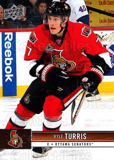 2012-13 Upper Deck #129 Kyle Turris<br/>10 In Stock - $1.00 each - <a href=https://centericecollectibles.foxycart.com/cart?name=2012-13%20Upper%20Deck%20%23129%20Kyle%20Turris...&quantity_max=10&price=$1.00&code=519113 class=foxycart> Buy it now! </a>