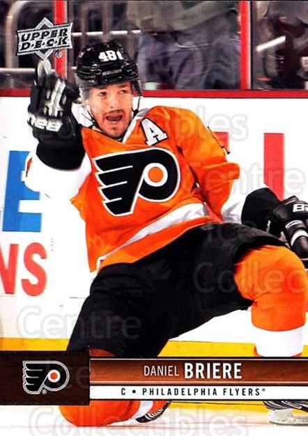2012-13 Upper Deck #136 Daniel Briere<br/>10 In Stock - $1.00 each - <a href=https://centericecollectibles.foxycart.com/cart?name=2012-13%20Upper%20Deck%20%23136%20Daniel%20Briere...&quantity_max=10&price=$1.00&code=519120 class=foxycart> Buy it now! </a>
