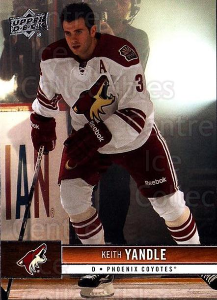 2012-13 Upper Deck #143 Keith Yandle<br/>9 In Stock - $1.00 each - <a href=https://centericecollectibles.foxycart.com/cart?name=2012-13%20Upper%20Deck%20%23143%20Keith%20Yandle...&quantity_max=9&price=$1.00&code=519127 class=foxycart> Buy it now! </a>