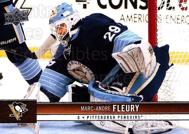 2012-13 Upper Deck #147 Marc-Andre Fleury<br/>4 In Stock - $2.00 each - <a href=https://centericecollectibles.foxycart.com/cart?name=2012-13%20Upper%20Deck%20%23147%20Marc-Andre%20Fleu...&quantity_max=4&price=$2.00&code=519131 class=foxycart> Buy it now! </a>