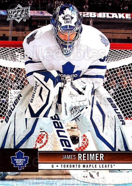 2012-13 Upper Deck #174 James Reimer<br/>6 In Stock - $1.00 each - <a href=https://centericecollectibles.foxycart.com/cart?name=2012-13%20Upper%20Deck%20%23174%20James%20Reimer...&price=$1.00&code=519158 class=foxycart> Buy it now! </a>