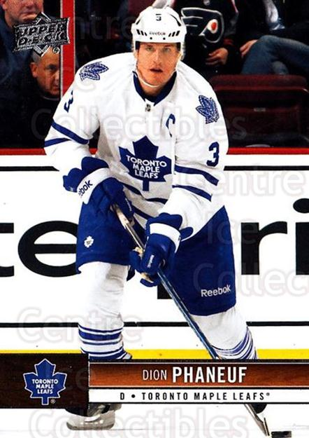 2012-13 Upper Deck #175 Dion Phaneuf<br/>3 In Stock - $1.00 each - <a href=https://centericecollectibles.foxycart.com/cart?name=2012-13%20Upper%20Deck%20%23175%20Dion%20Phaneuf...&price=$1.00&code=519159 class=foxycart> Buy it now! </a>