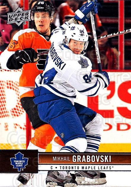 2012-13 Upper Deck #176 Mikhail Grabovski<br/>9 In Stock - $1.00 each - <a href=https://centericecollectibles.foxycart.com/cart?name=2012-13%20Upper%20Deck%20%23176%20Mikhail%20Grabovs...&quantity_max=9&price=$1.00&code=519160 class=foxycart> Buy it now! </a>