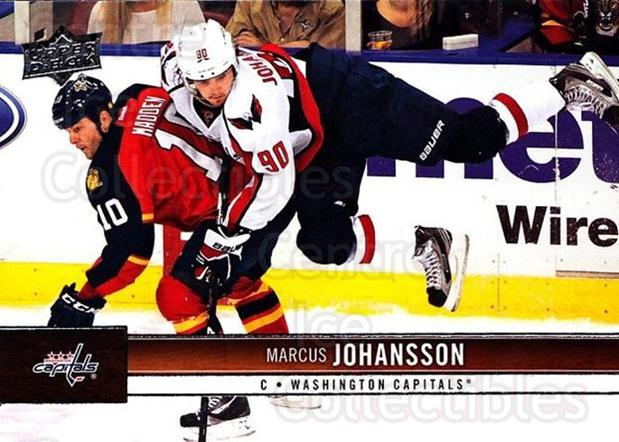 2012-13 Upper Deck #192 Marcus Johansson<br/>10 In Stock - $1.00 each - <a href=https://centericecollectibles.foxycart.com/cart?name=2012-13%20Upper%20Deck%20%23192%20Marcus%20Johansso...&quantity_max=10&price=$1.00&code=519176 class=foxycart> Buy it now! </a>