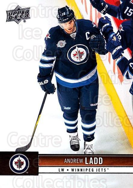 2012-13 Upper Deck #194 Andrew Ladd<br/>9 In Stock - $1.00 each - <a href=https://centericecollectibles.foxycart.com/cart?name=2012-13%20Upper%20Deck%20%23194%20Andrew%20Ladd...&quantity_max=9&price=$1.00&code=519178 class=foxycart> Buy it now! </a>