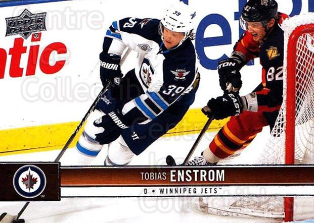 2012-13 Upper Deck #195 Tobias Enstrom<br/>9 In Stock - $1.00 each - <a href=https://centericecollectibles.foxycart.com/cart?name=2012-13%20Upper%20Deck%20%23195%20Tobias%20Enstrom...&quantity_max=9&price=$1.00&code=519179 class=foxycart> Buy it now! </a>