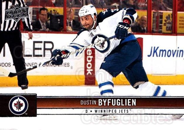 2012-13 Upper Deck #196 Dustin Byfuglien<br/>10 In Stock - $1.00 each - <a href=https://centericecollectibles.foxycart.com/cart?name=2012-13%20Upper%20Deck%20%23196%20Dustin%20Byfuglie...&quantity_max=10&price=$1.00&code=519180 class=foxycart> Buy it now! </a>