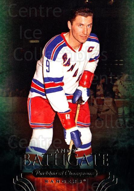 2011-12 Parkhurst Champions #28 Andy Bathgate<br/>6 In Stock - $1.00 each - <a href=https://centericecollectibles.foxycart.com/cart?name=2011-12%20Parkhurst%20Champions%20%2328%20Andy%20Bathgate...&quantity_max=6&price=$1.00&code=519598 class=foxycart> Buy it now! </a>