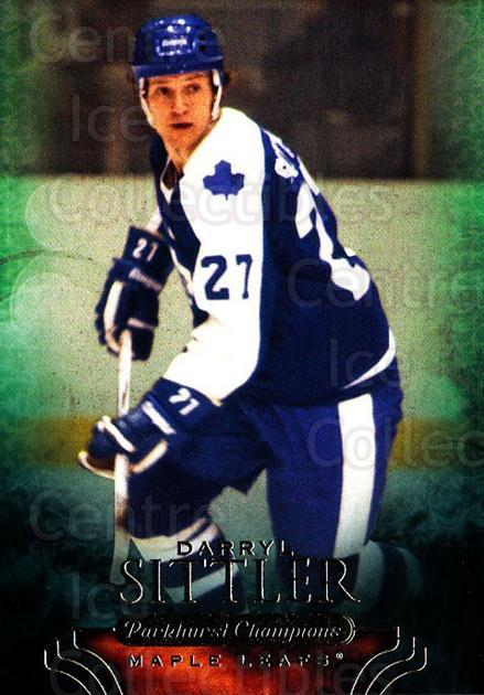 2011-12 Parkhurst Champions #34 Darryl Sittler<br/>6 In Stock - $2.00 each - <a href=https://centericecollectibles.foxycart.com/cart?name=2011-12%20Parkhurst%20Champions%20%2334%20Darryl%20Sittler...&quantity_max=6&price=$2.00&code=519604 class=foxycart> Buy it now! </a>