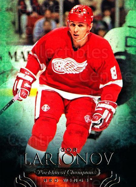 2011-12 Parkhurst Champions #48 Igor Larionov<br/>6 In Stock - $1.00 each - <a href=https://centericecollectibles.foxycart.com/cart?name=2011-12%20Parkhurst%20Champions%20%2348%20Igor%20Larionov...&quantity_max=6&price=$1.00&code=519618 class=foxycart> Buy it now! </a>