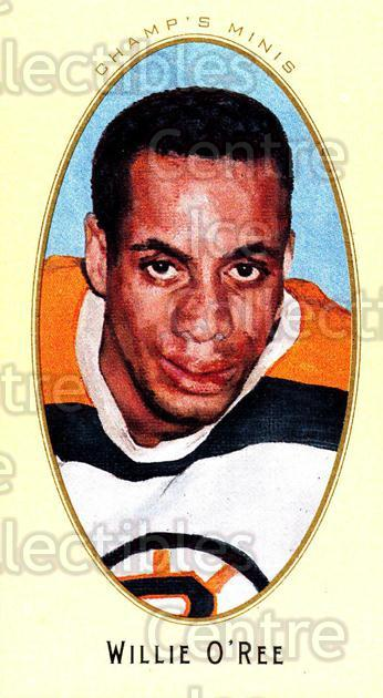 Center Ice Collectibles - Willie O'Ree Hockey Cards
